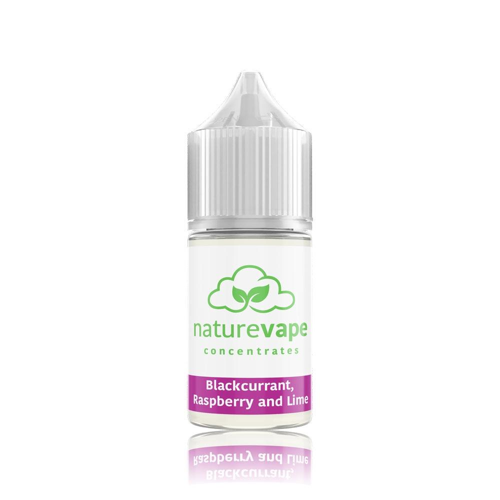 Blackcurrant, Raspberry & Lime Flavour Concentrate by Naturevape