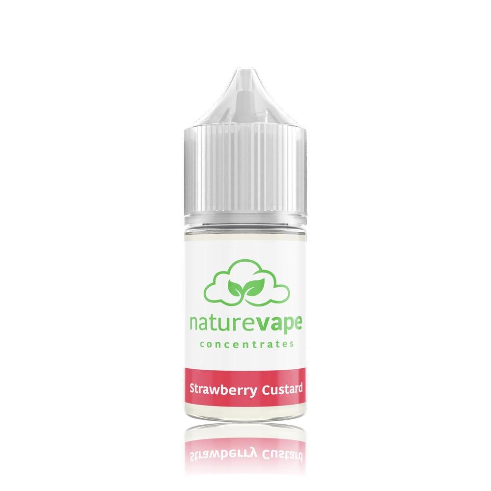 Strawberry Custard Flavour Concentrate by Naturevape