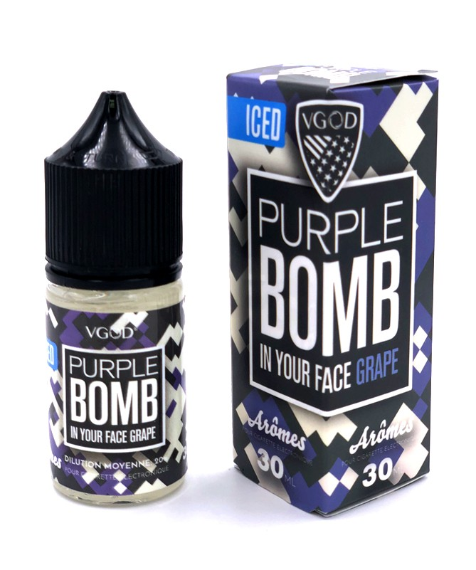 Purple Bomb Ice Flavour Concentrate by VGOD
