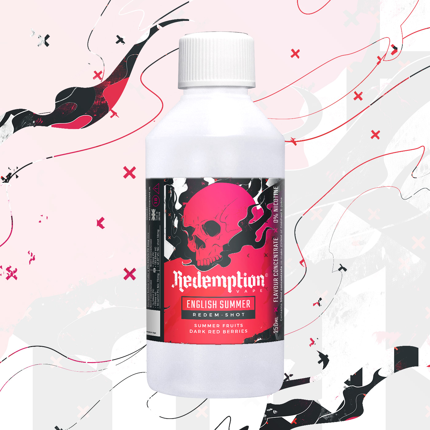 English Summer Redem Shot by Redemption Vape - 250ml