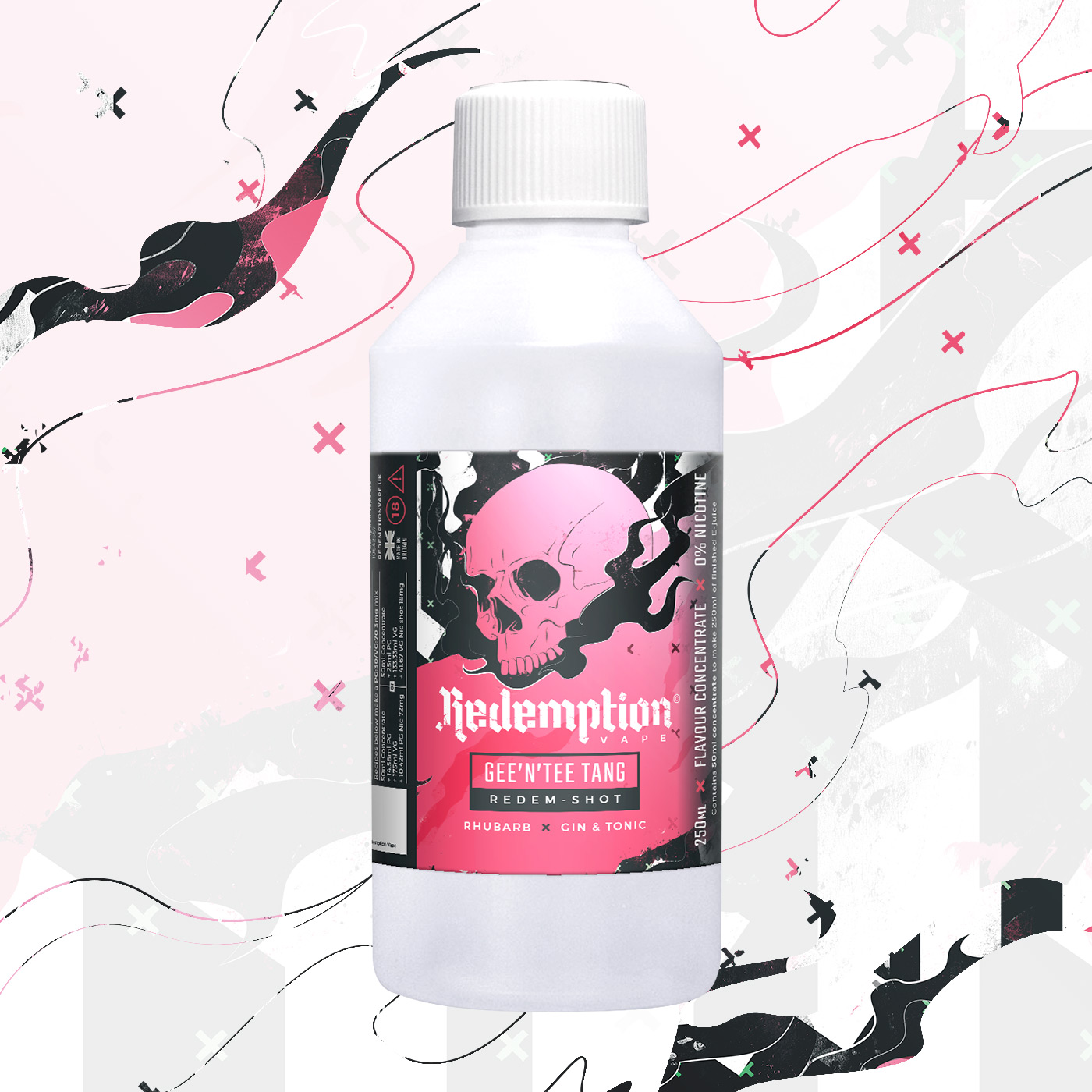 Gee & Tee Tang Redem Shot by Redemption Vape - 250ml