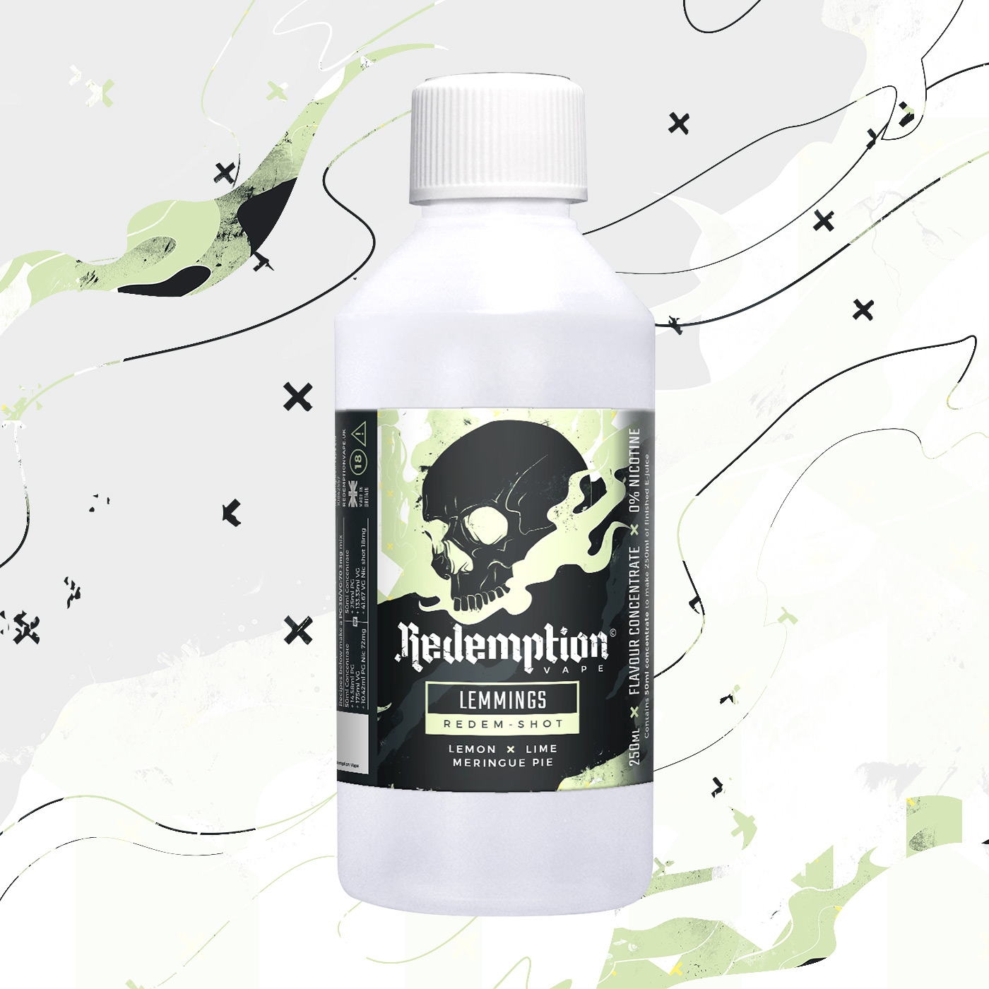 Lemmings Redem Shot by Redemption Vape - 250ml