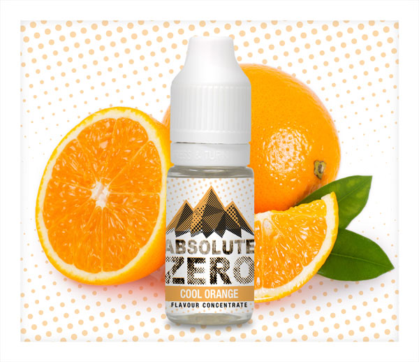 Cool Orange Flavour Concentrate by Absolute Zero