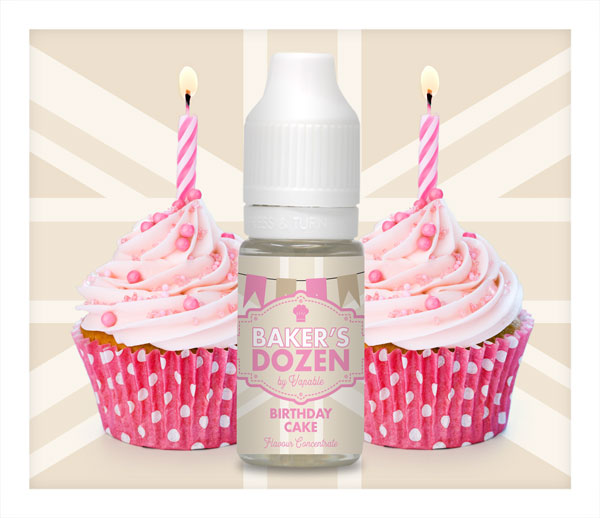 Birthday Cake Flavour Concentrate by Baker's Dozen