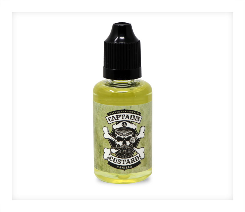 Vanilla Flavour Concentrate by Captains Custard