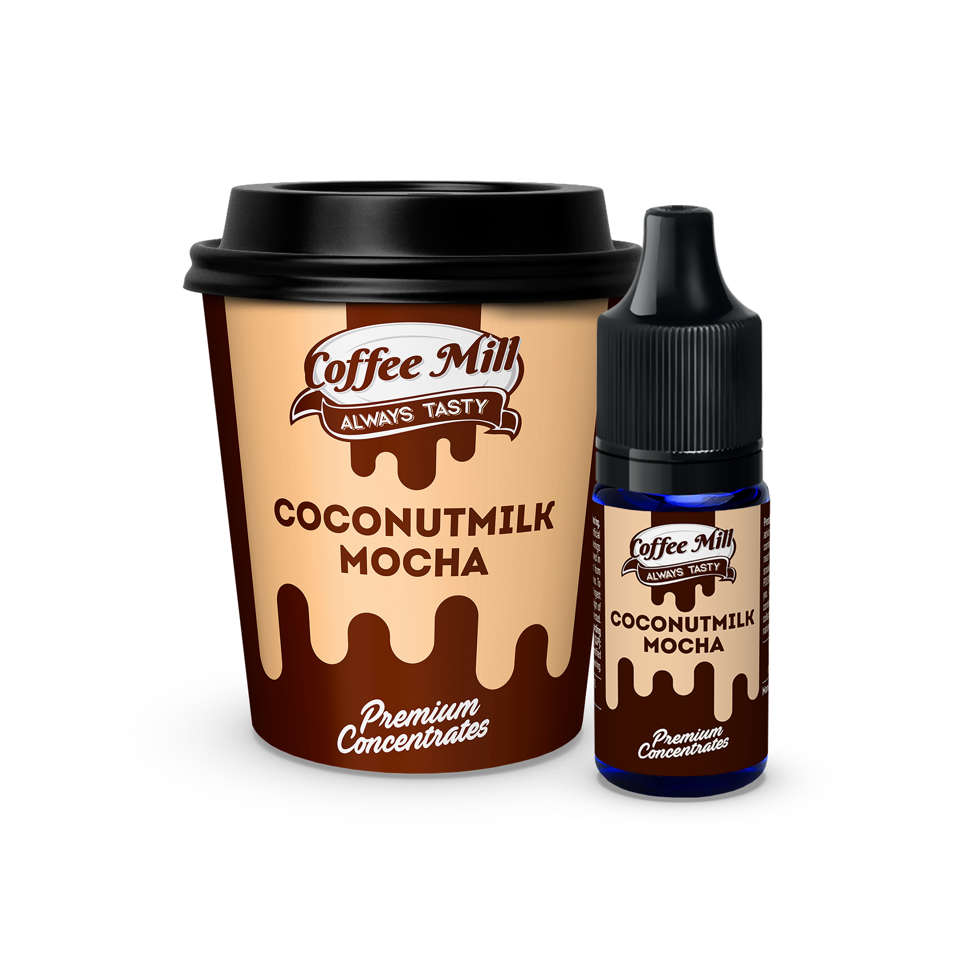 Coconut Milk Mocha Flavour Concentrate by Coffee Mill