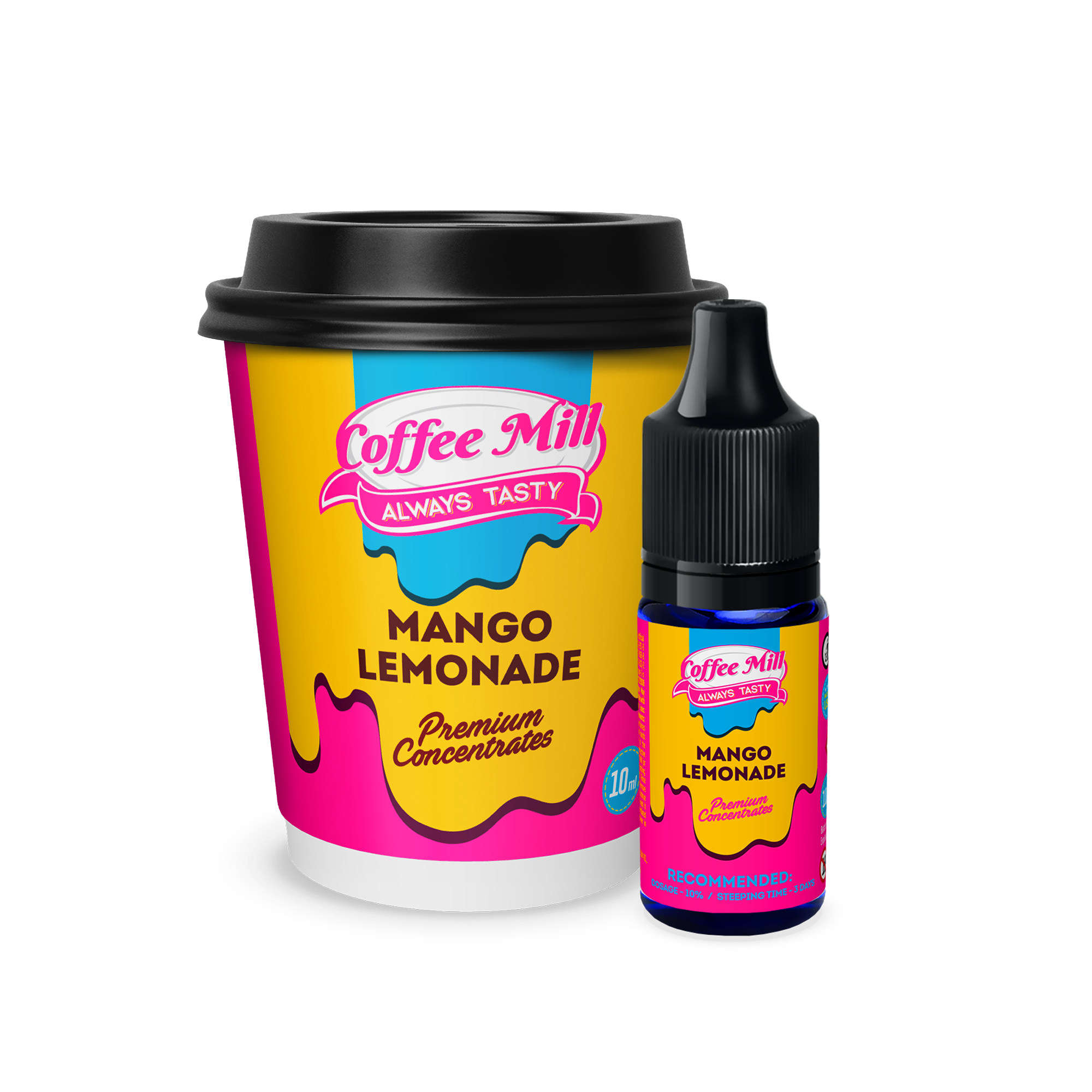 Mango Lemonade Flavour Concentrate by Coffee Mill