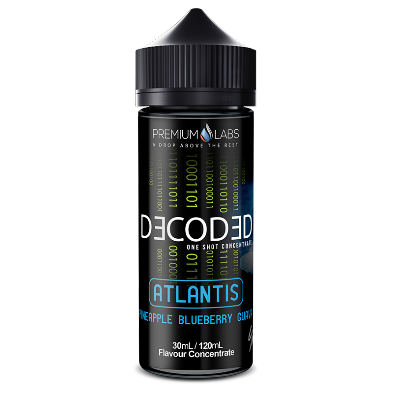 Atlantis Flavour Concentrate by Decoded