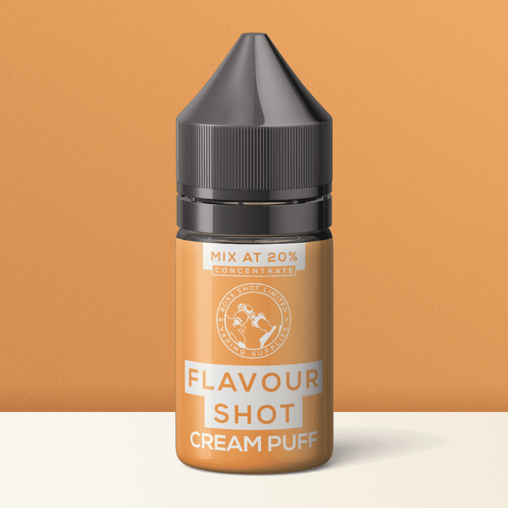 Cream Puff Flavour Concentrate by Flavour Boss