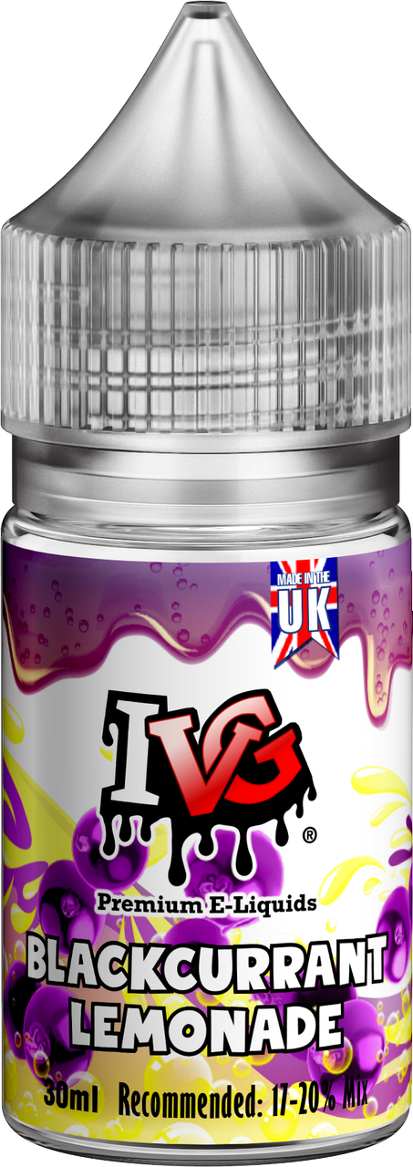 Blackcurrant Lemonade Flavour Concentrate by IVG