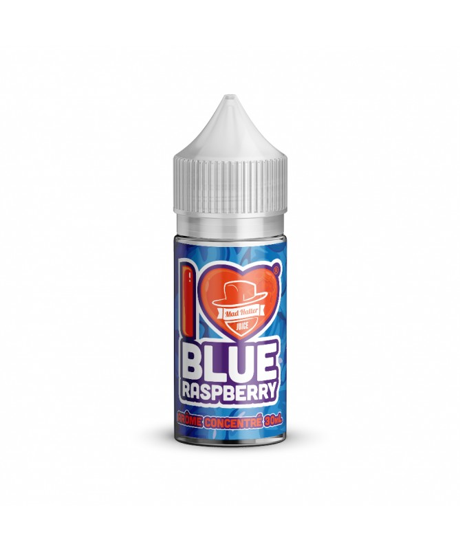 I Love Candy Blue Raspberry Flavour Concentrate by Mad Hatter