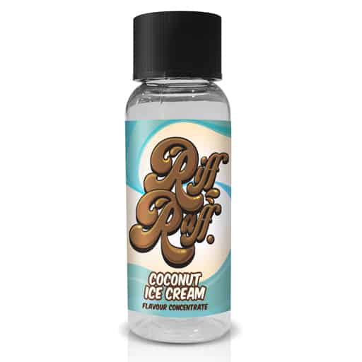 Coconut Ice Cream Flavour Concentrate by Riff Raff