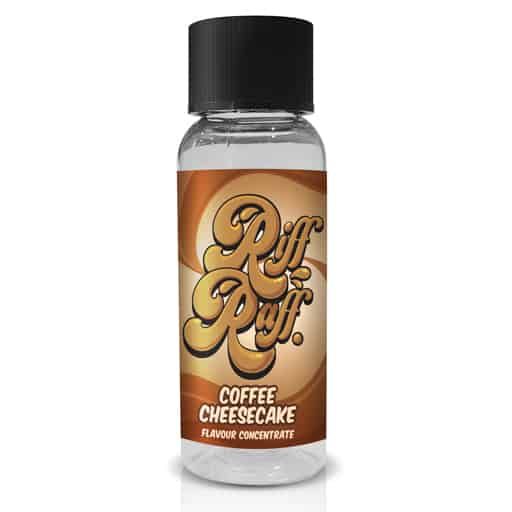 Coffee Cheesecake Flavour Concentrate by Riff Raff