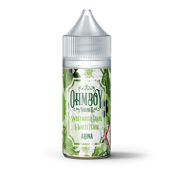 Sweet Water Grape & White Peach Flavour Concentrate by Ohm Boy