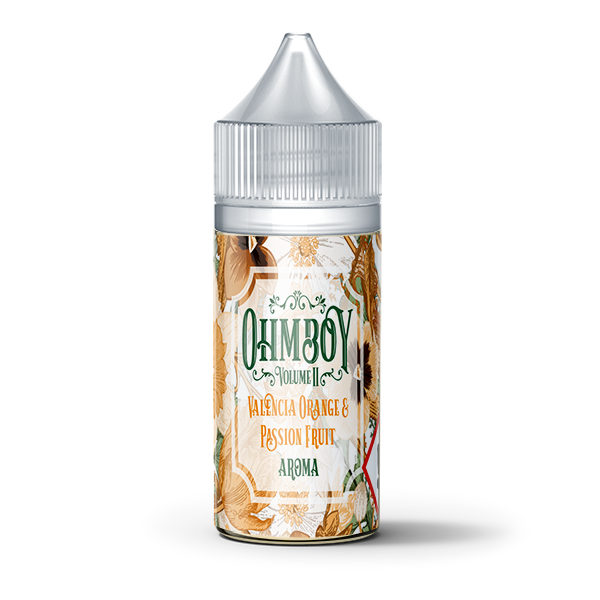 Valencia Orange & Passion Fruit Flavour Concentrate by Ohm Boy