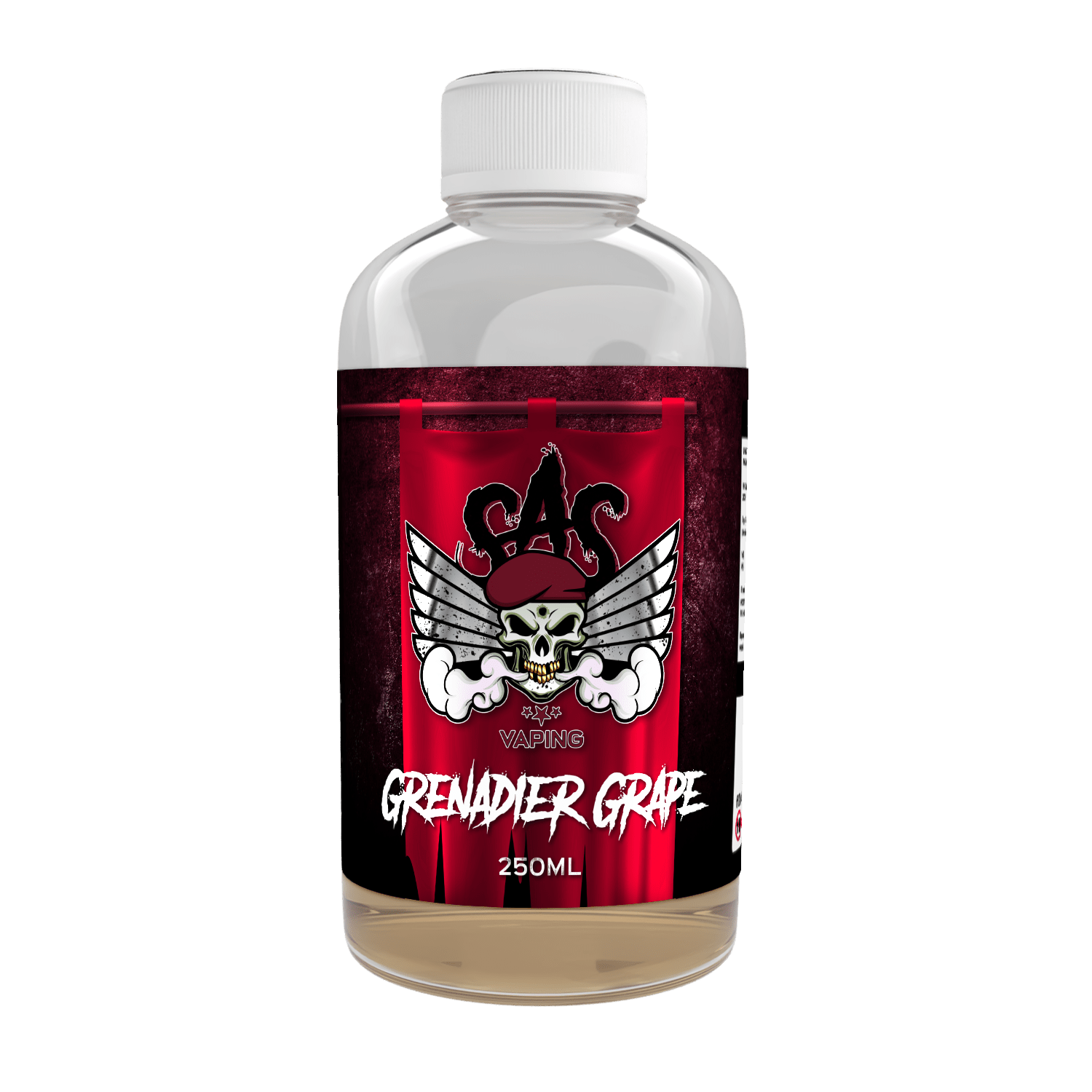 Grenadier Grape Flavour Shot by SAS Vaping - 250ml