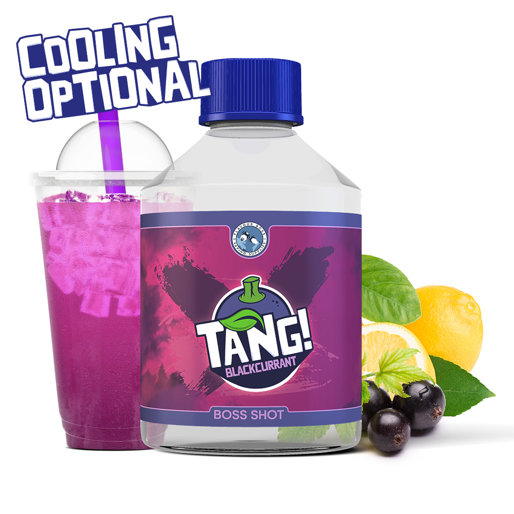 Tang! Blackcurrant Boss Shot by Flavour Boss - 250ml