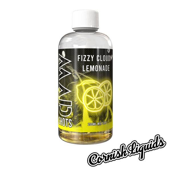 Fizzy Cloudy Lemonade Mad Shot by Cornish Liquids - 250ml