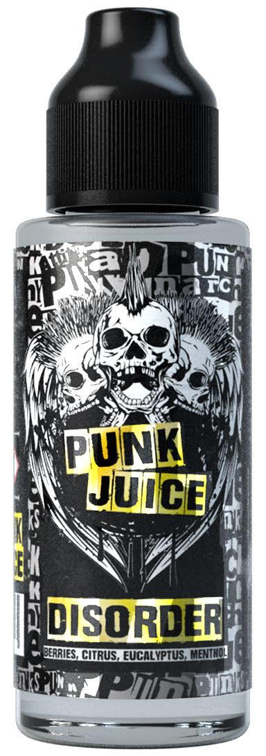 Disorder 100ml Shortfill E Liquid by Punk Juice