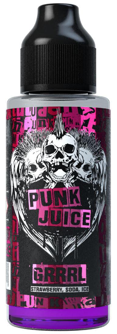 GRRRL 100ml Shortfill E Liquid by Punk Juice