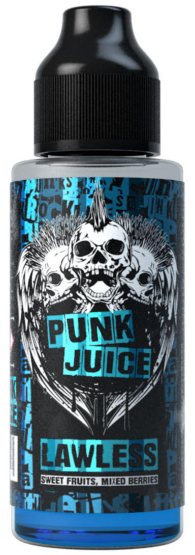 Lawless 100ml Shortfill E Liquid by Punk Juice