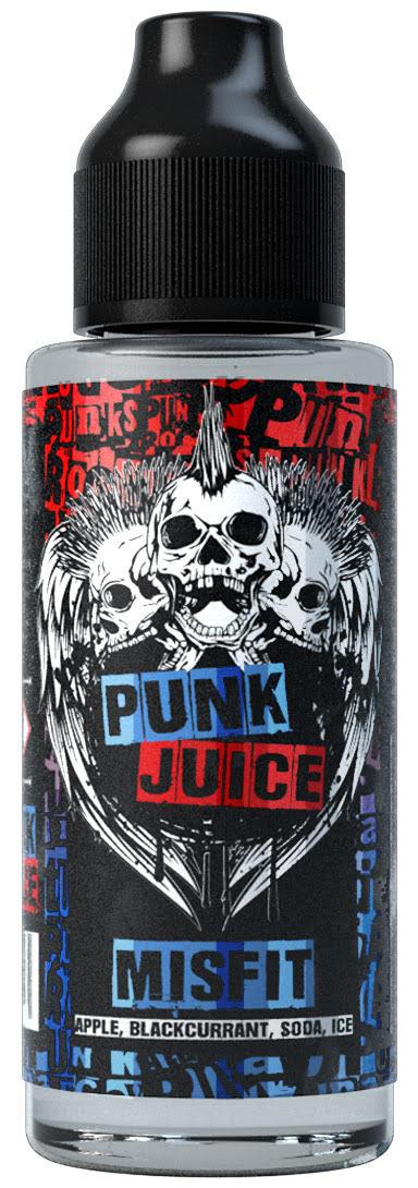 Misfit 100ml Shortfill E Liquid by Punk Juice