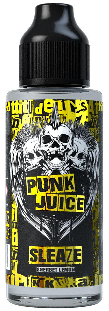 Sleaze 100ml Shortfill E Liquid by Punk Juice
