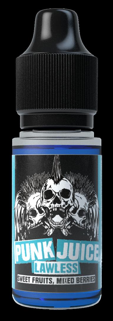 Lawless Nicotine Salt E Liquid by Punk Juice