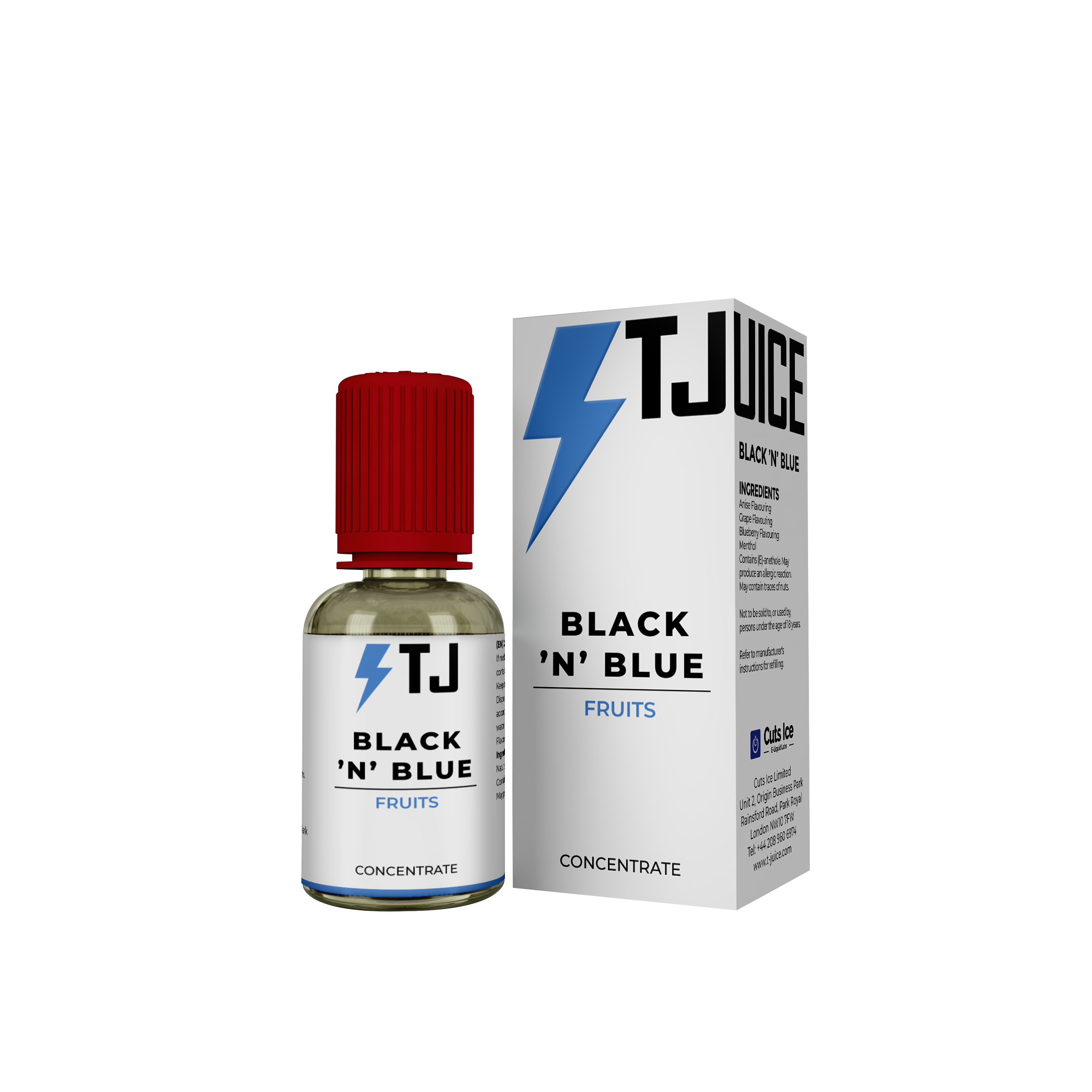 Black N Blue Flavour Concentrate by T-Juice