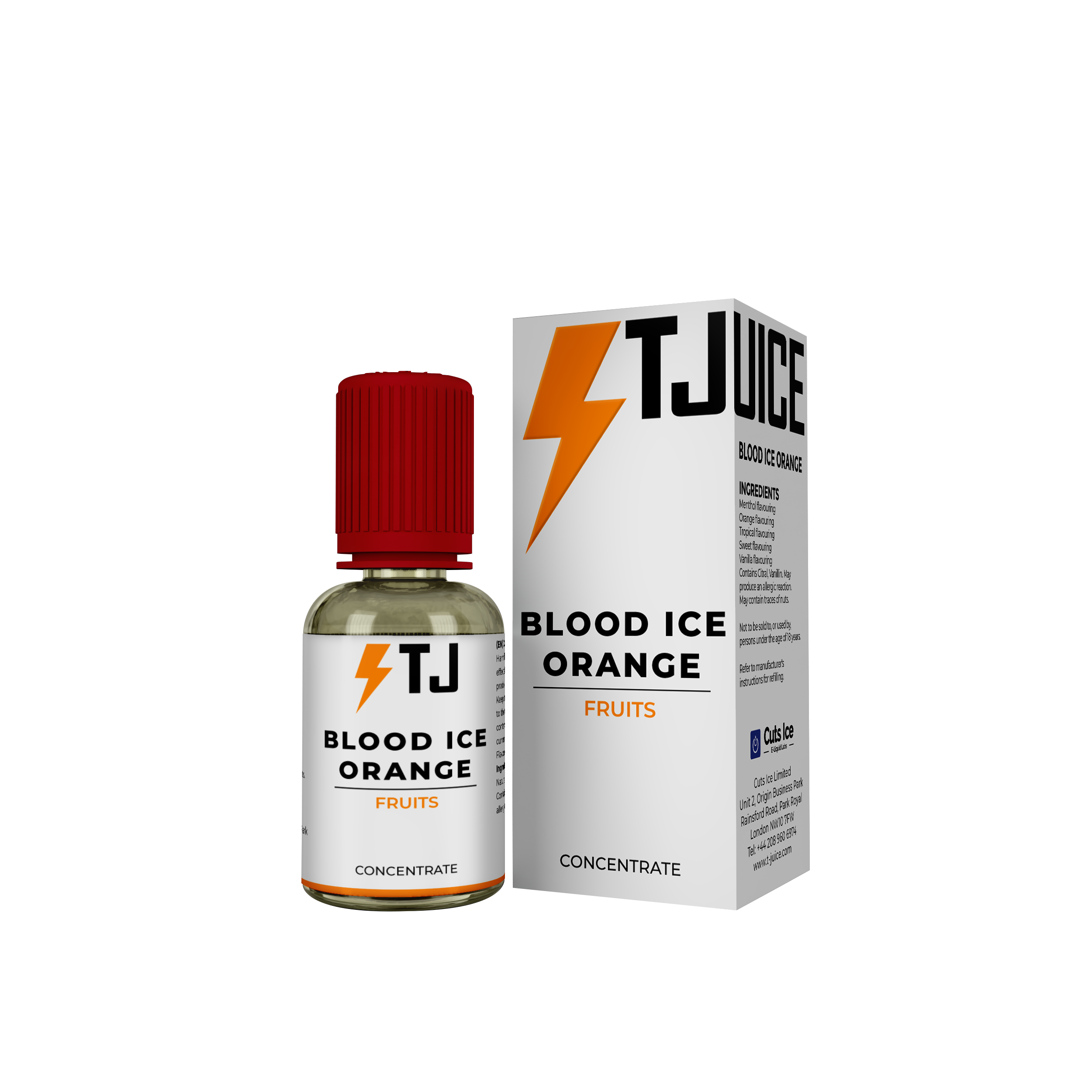 Blood Ice Orange Flavour Concentrate by T-Juice