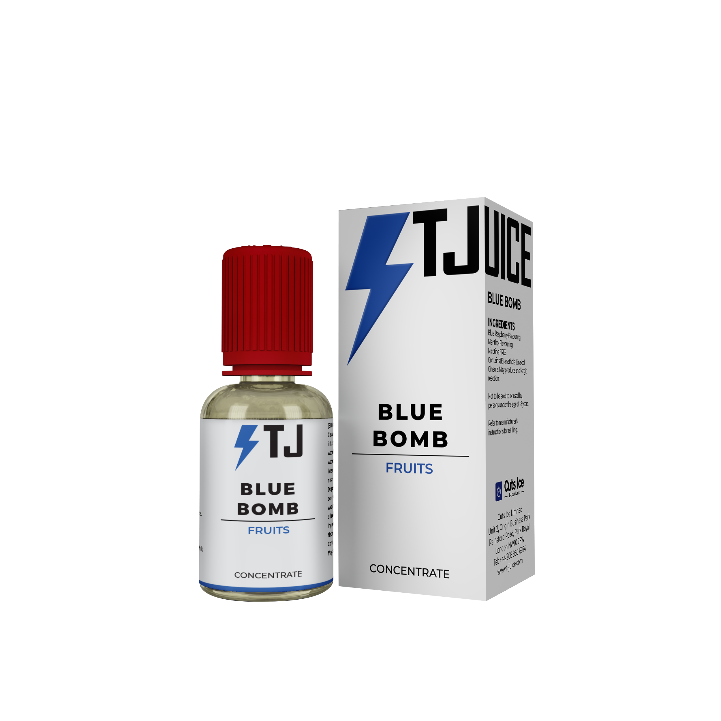Blue Bomb Flavour Concentrate by T-Juice