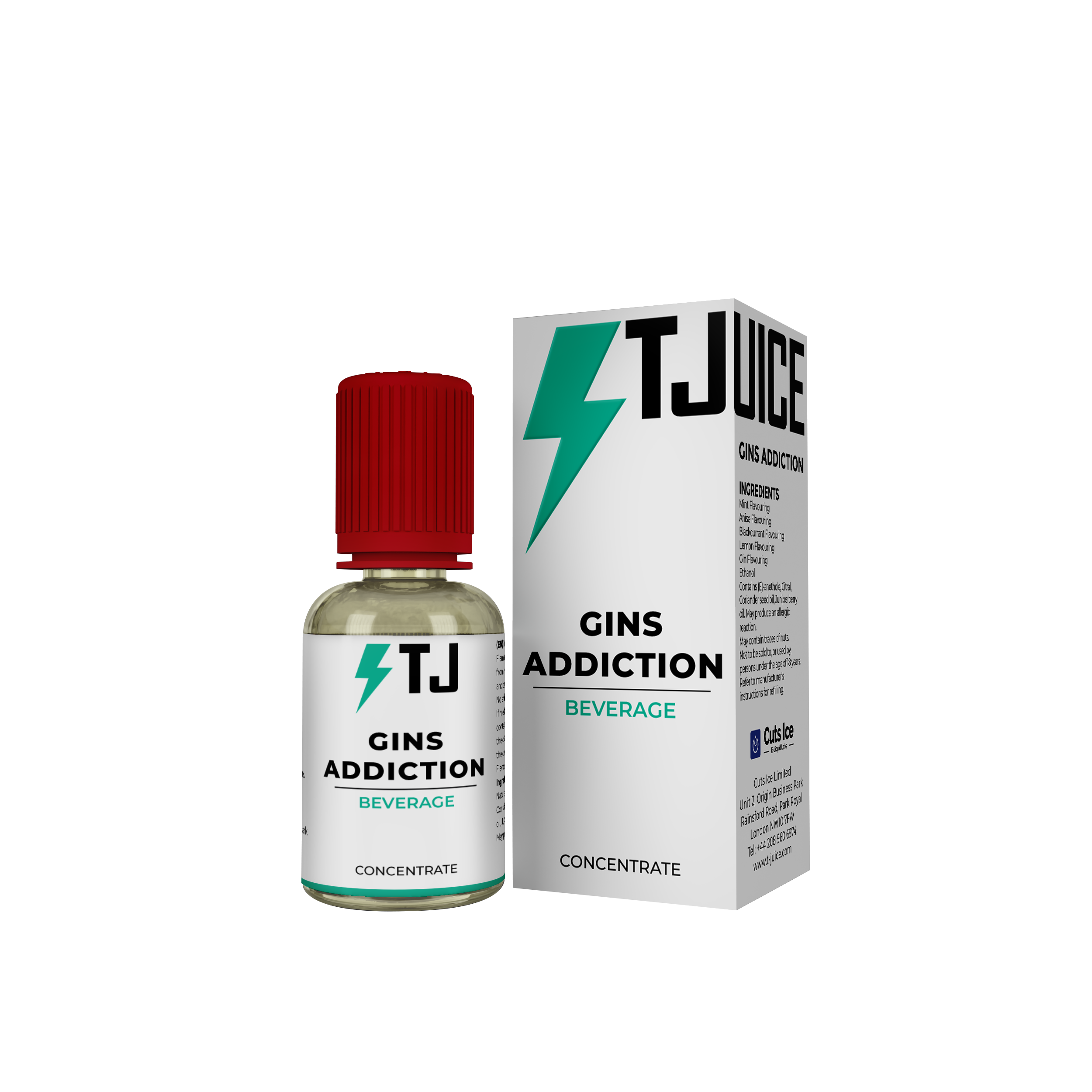Gins Addiction Flavour Concentrate by T-Juice