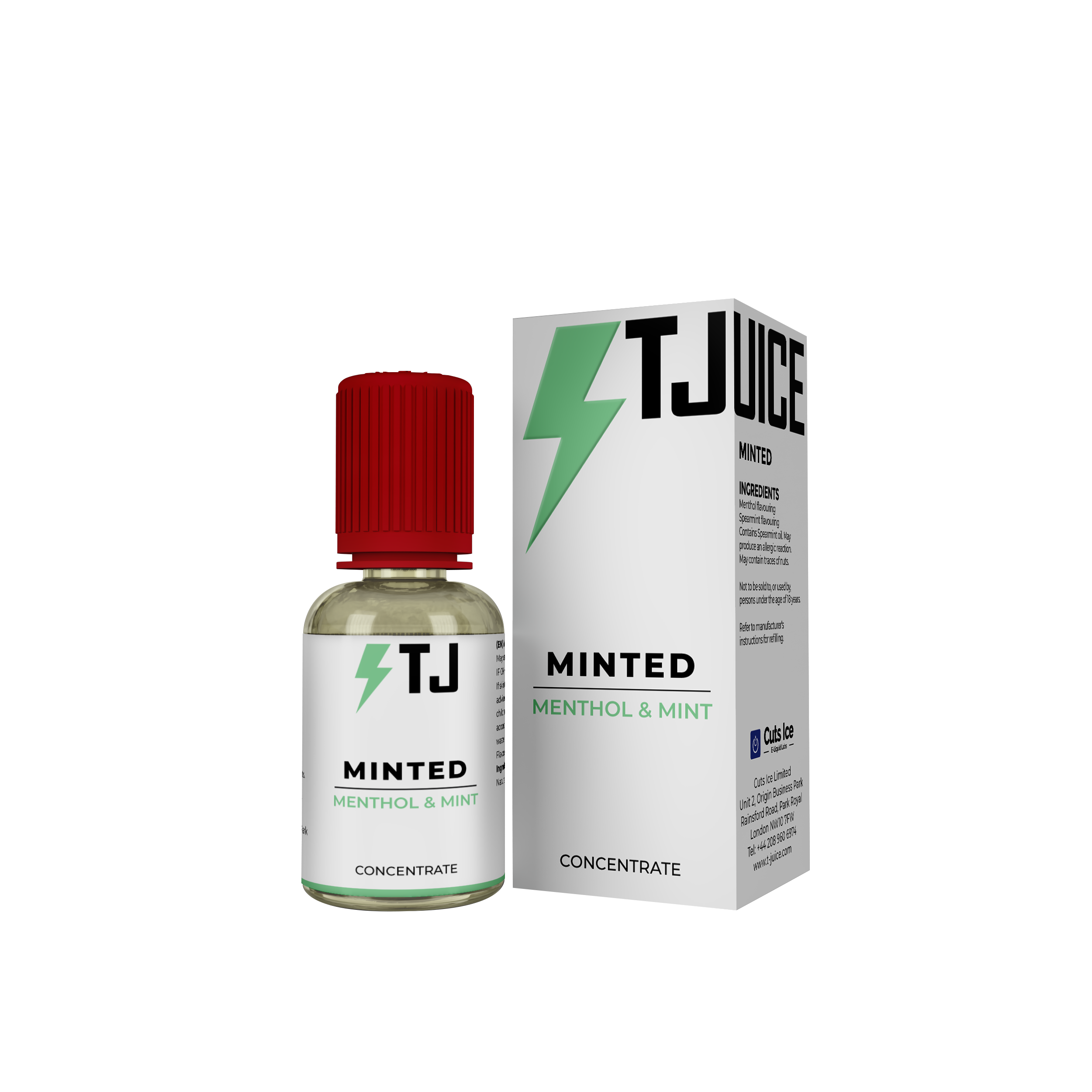 Minted Flavour Concentrate by T-Juice