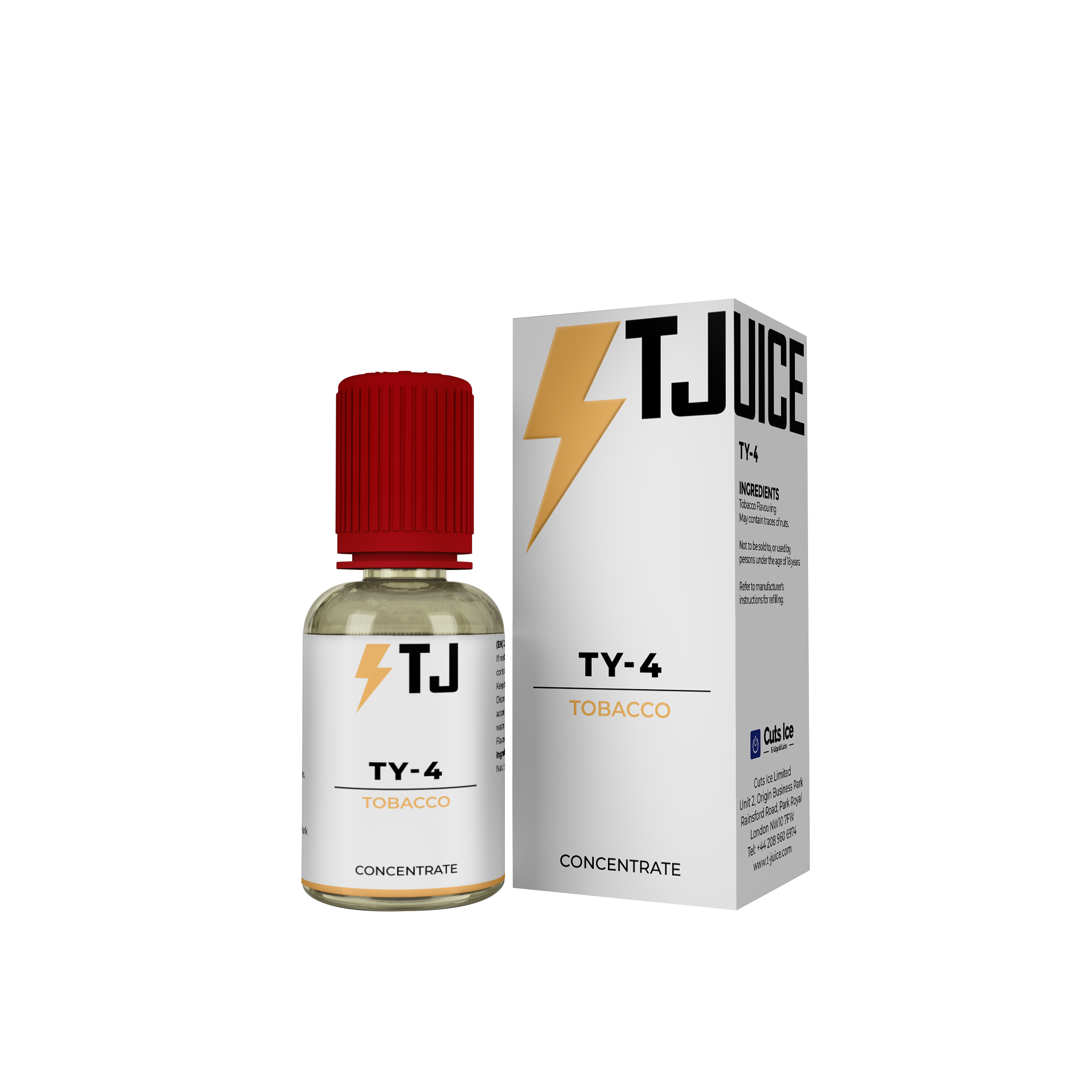 TY4 Flavour Concentrate by T-Juice