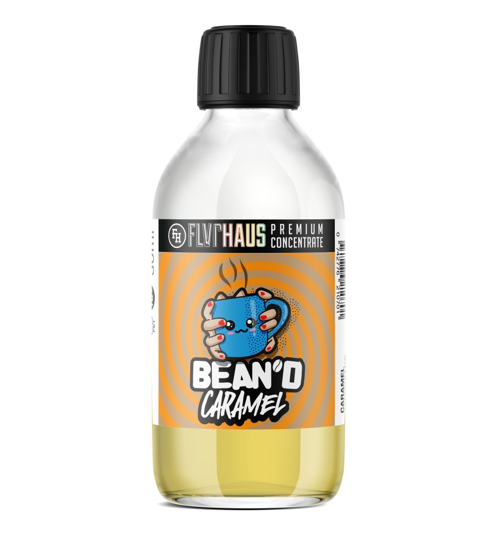 Bean'd Caramel Bottle Shot by Ace of Vapes - 250ml