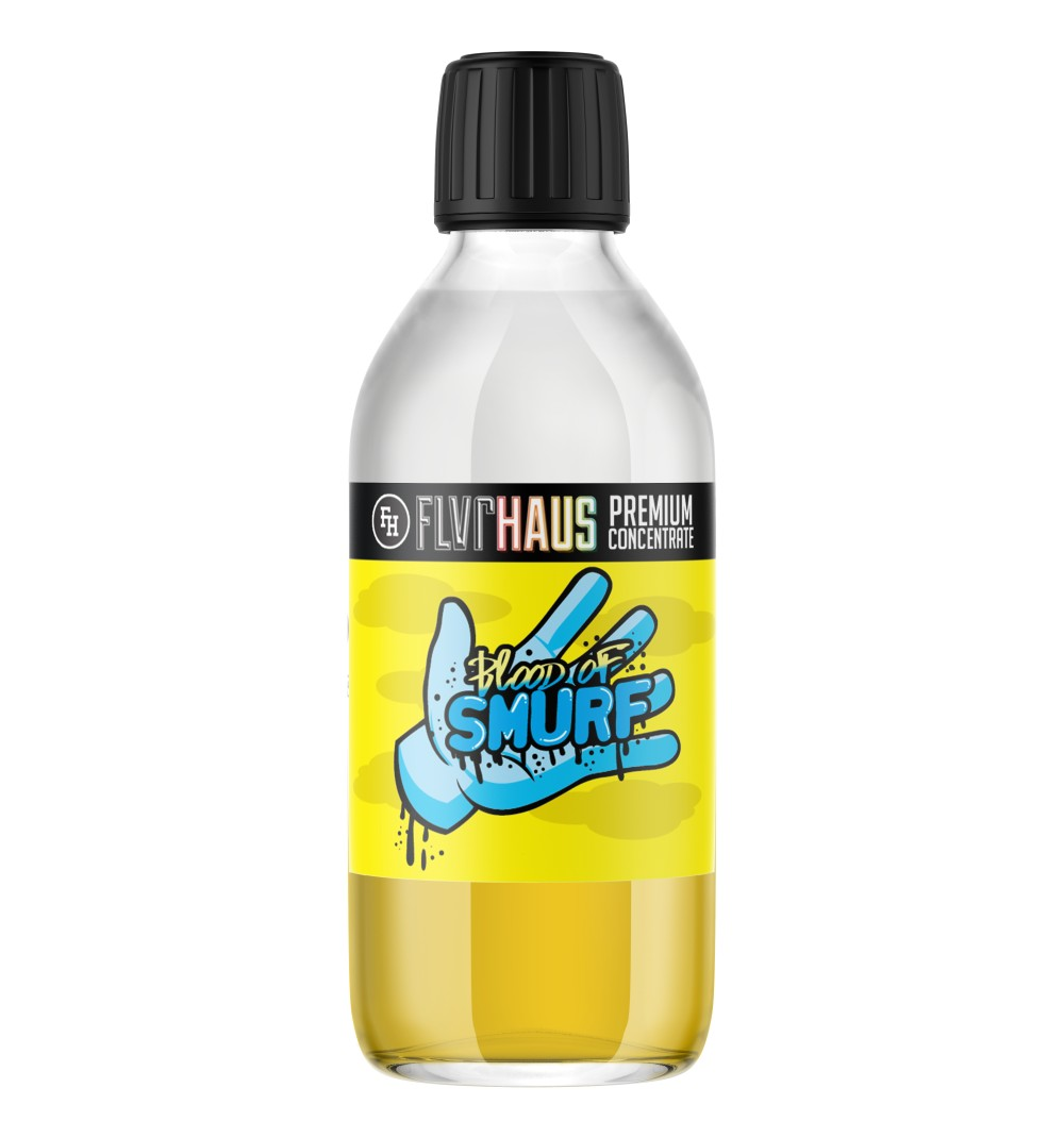 Blood of Smurfs Bottle Shot by Ace of Vapes - 250ml