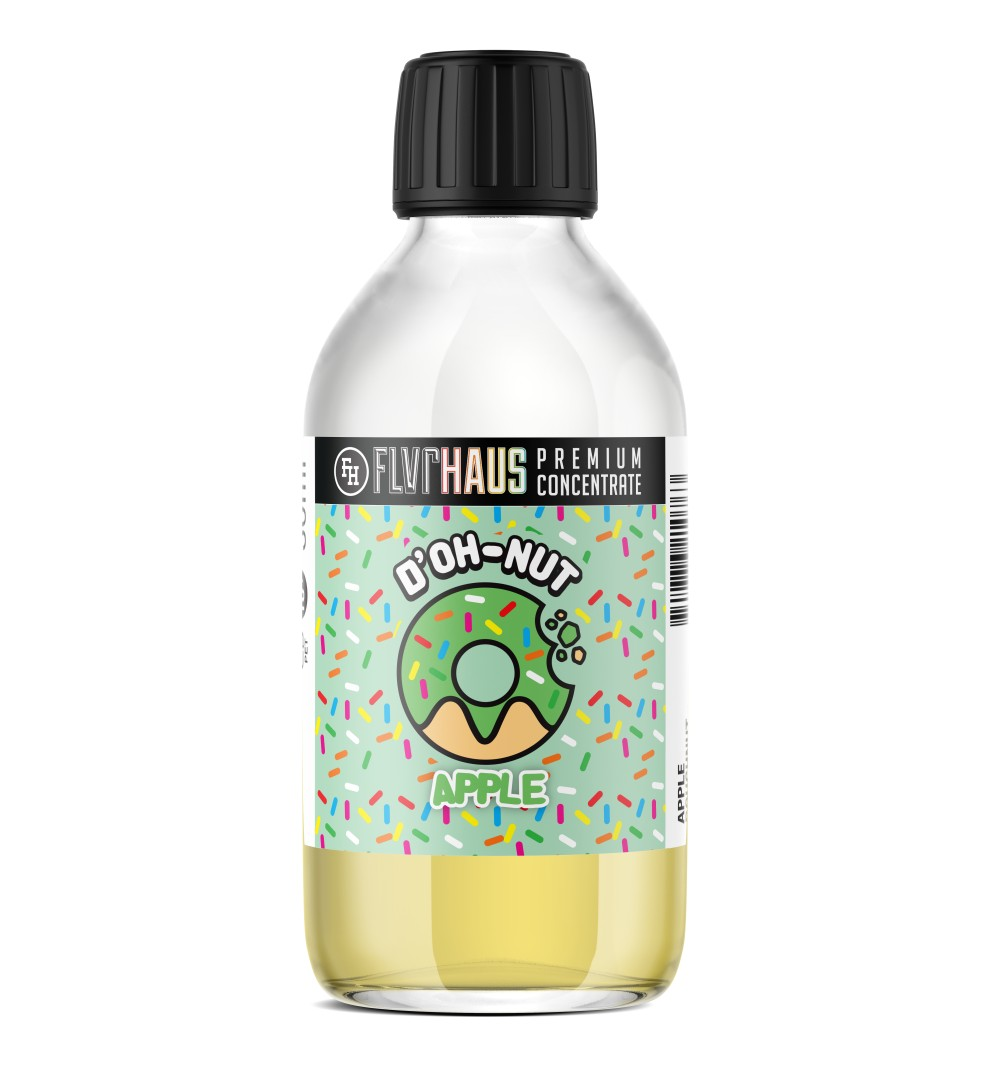 D'OH-NUT Apple Bottle Shot by Ace of Vapes - 250ml