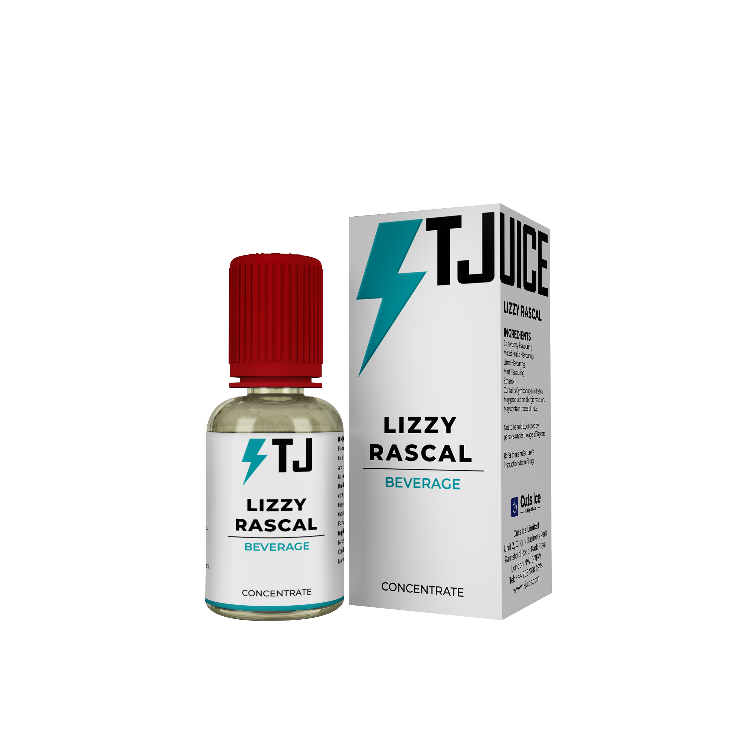 Lizzy Rascal Flavour Concentrate by T-Juice