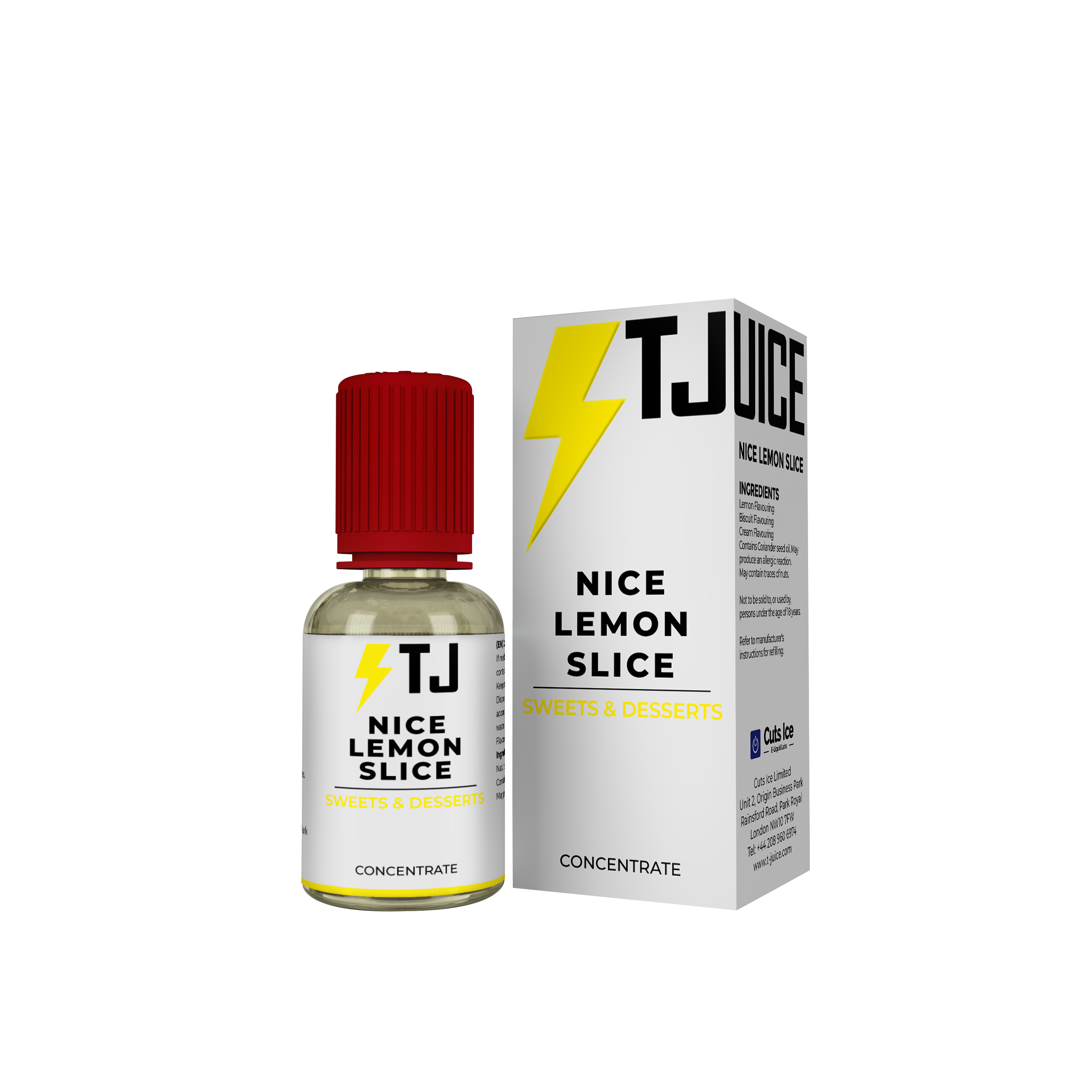 Nice Lemon Slice Flavour Concentrate by T-Juice